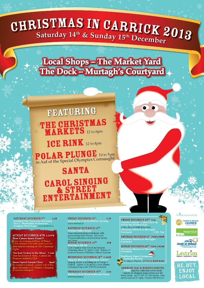 Christmas in Carrick 2013 Flyer