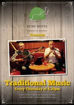 MyCarrick Event | The Bush Hotel : Traditional Music at The Bush Hotel