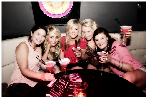 Girls night out in Club 360