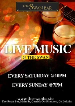 MyCarrick Event | Swan Bar : The Swan Bar - Live Music