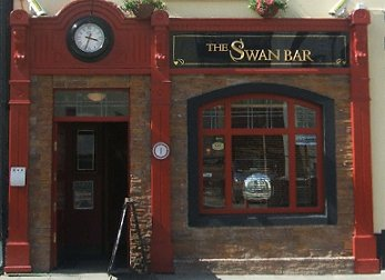 Street view of the Swan Bar