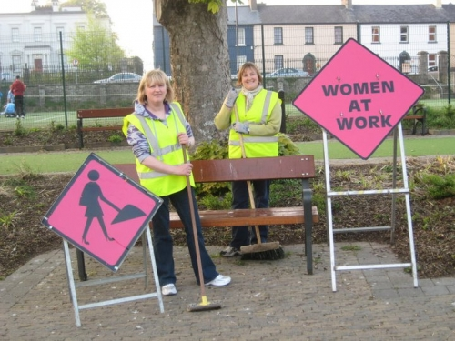 Women at Work!