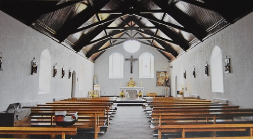 Inside St. Josephs Leitrim Village