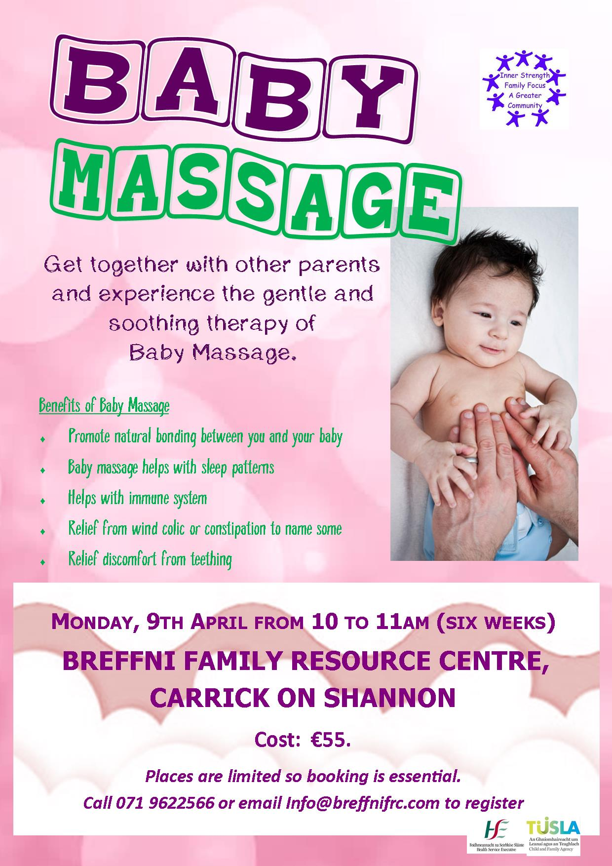 MyCarrick Event - Breffni Family Resource Centre - Baby Massage