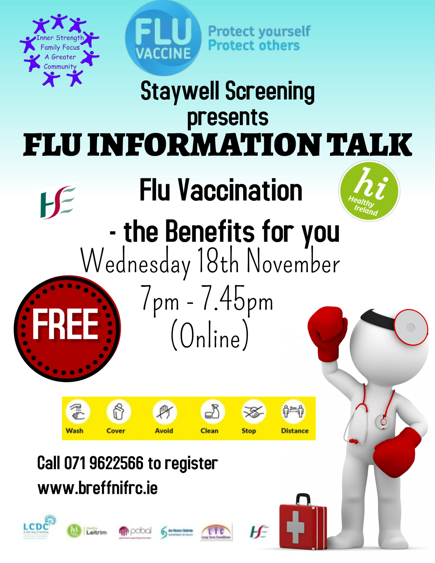 MyCarrick Event - Breffni Family Resource Centre - Flu Information Talk