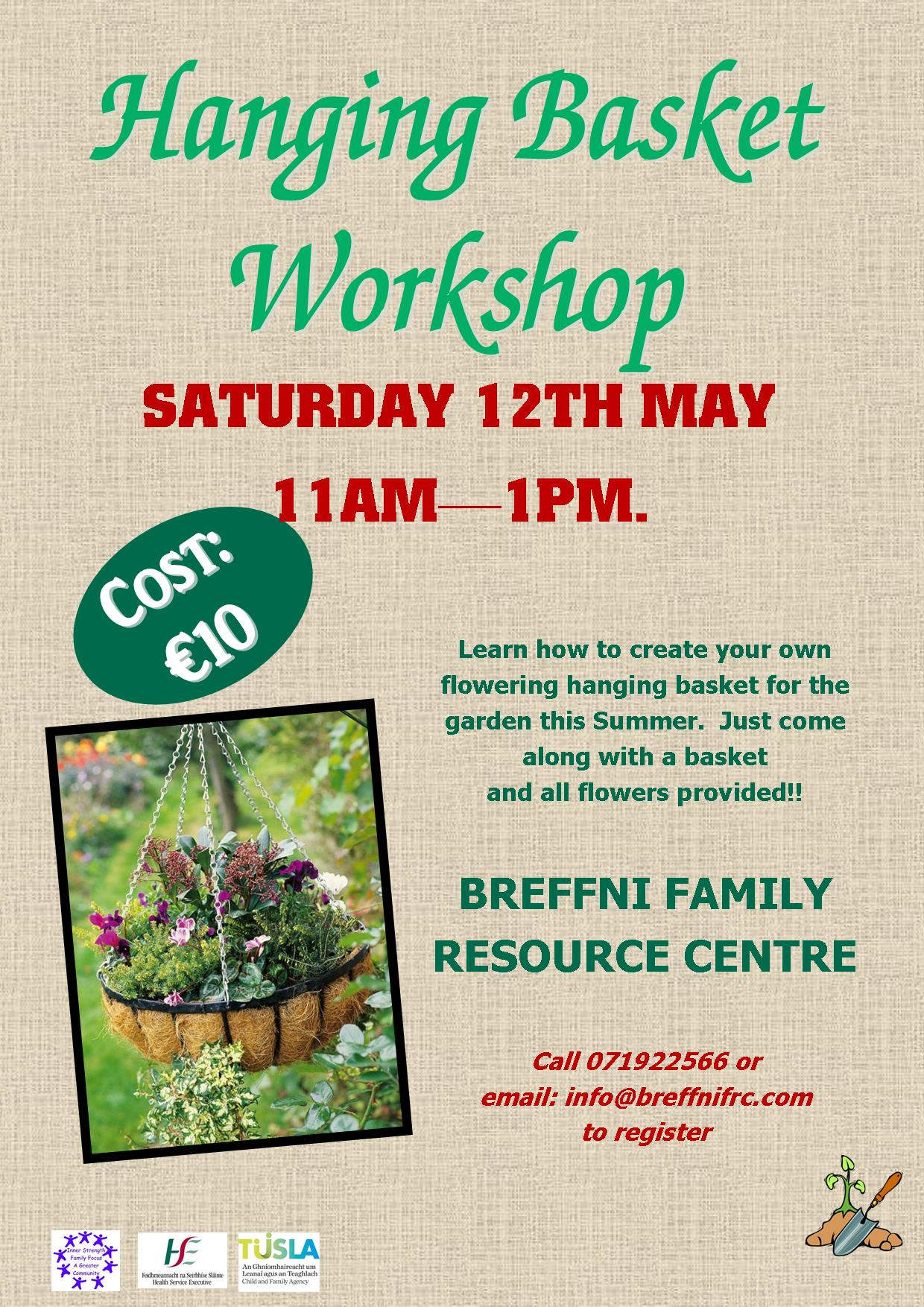 MyCarrick Event - Breffni Family Resource Centre - Hanging Basket Workshop