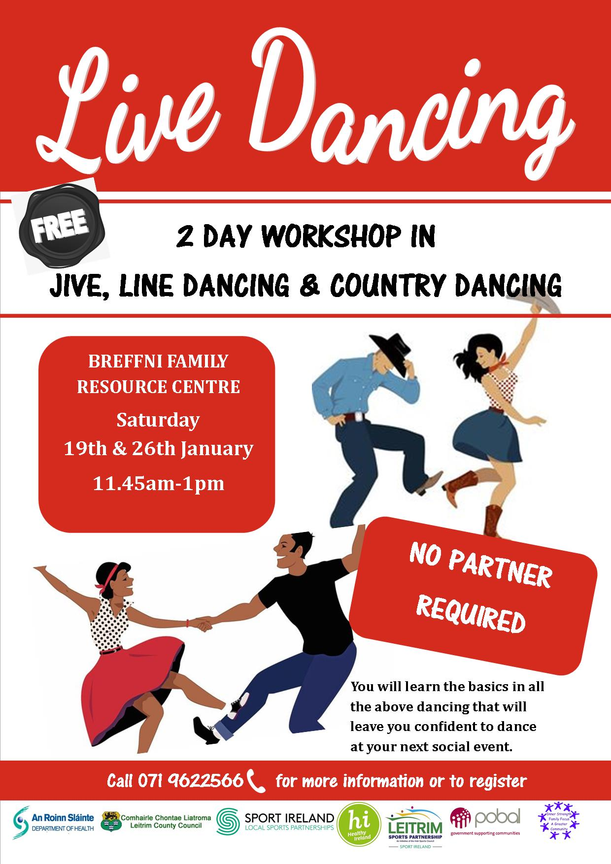 MyCarrick Event - Breffni Family Resource Centre - Live Dancing