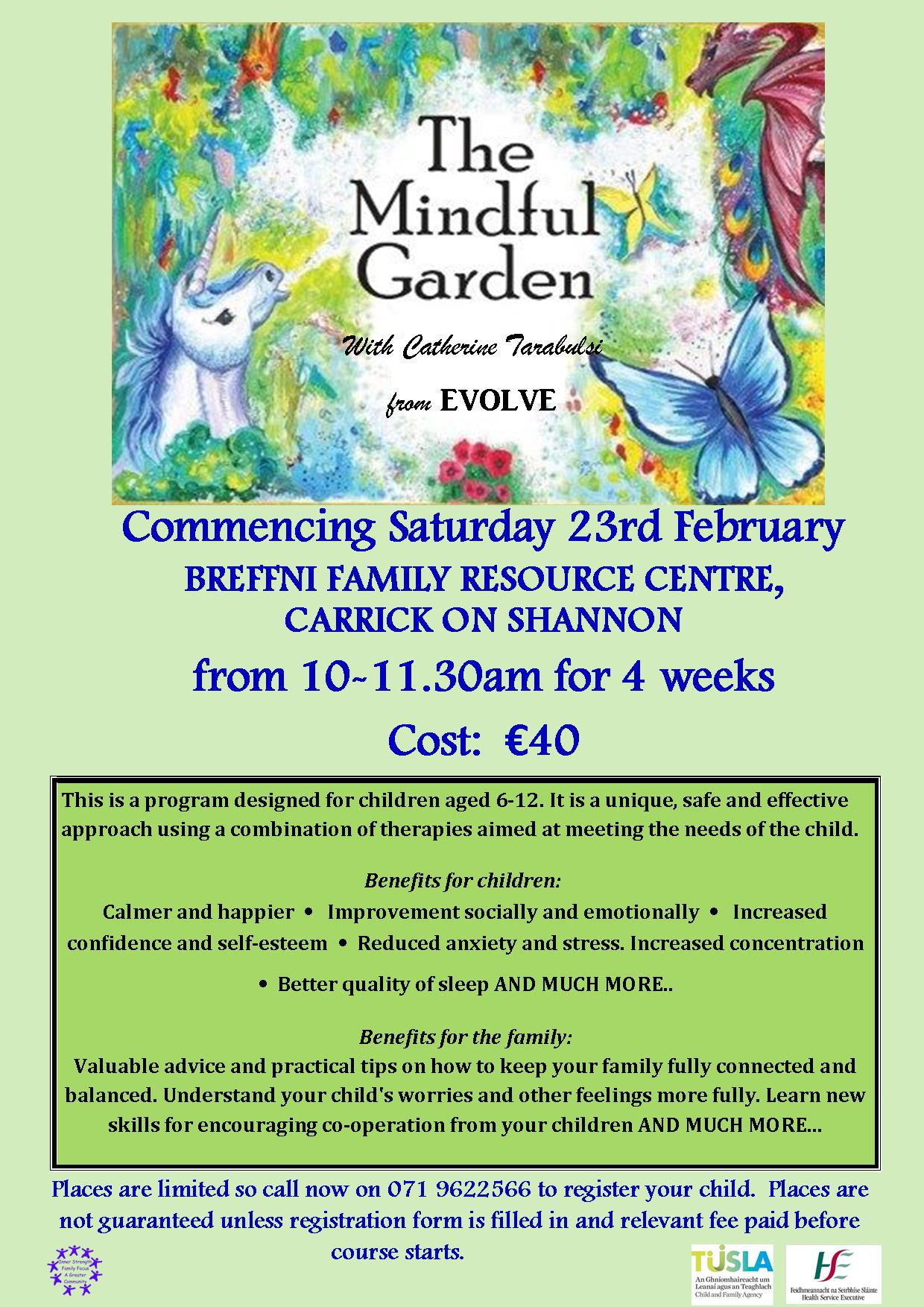 MyCarrick Event | Breffni Family Resource Centre : The Mindful Garden