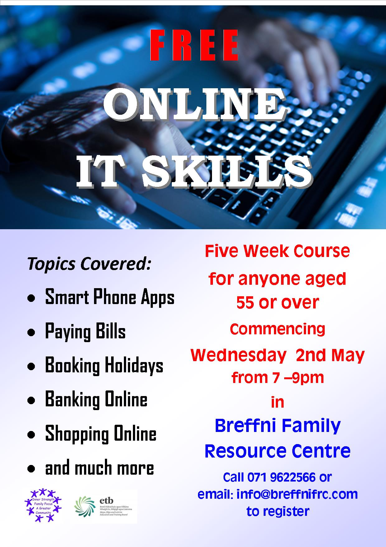 MyCarrick Event - Breffni Family Resource Centre - Online IT Skills