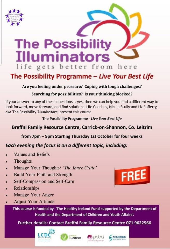 MyCarrick Event - Breffni Family Resource Centre - Possibility Programme