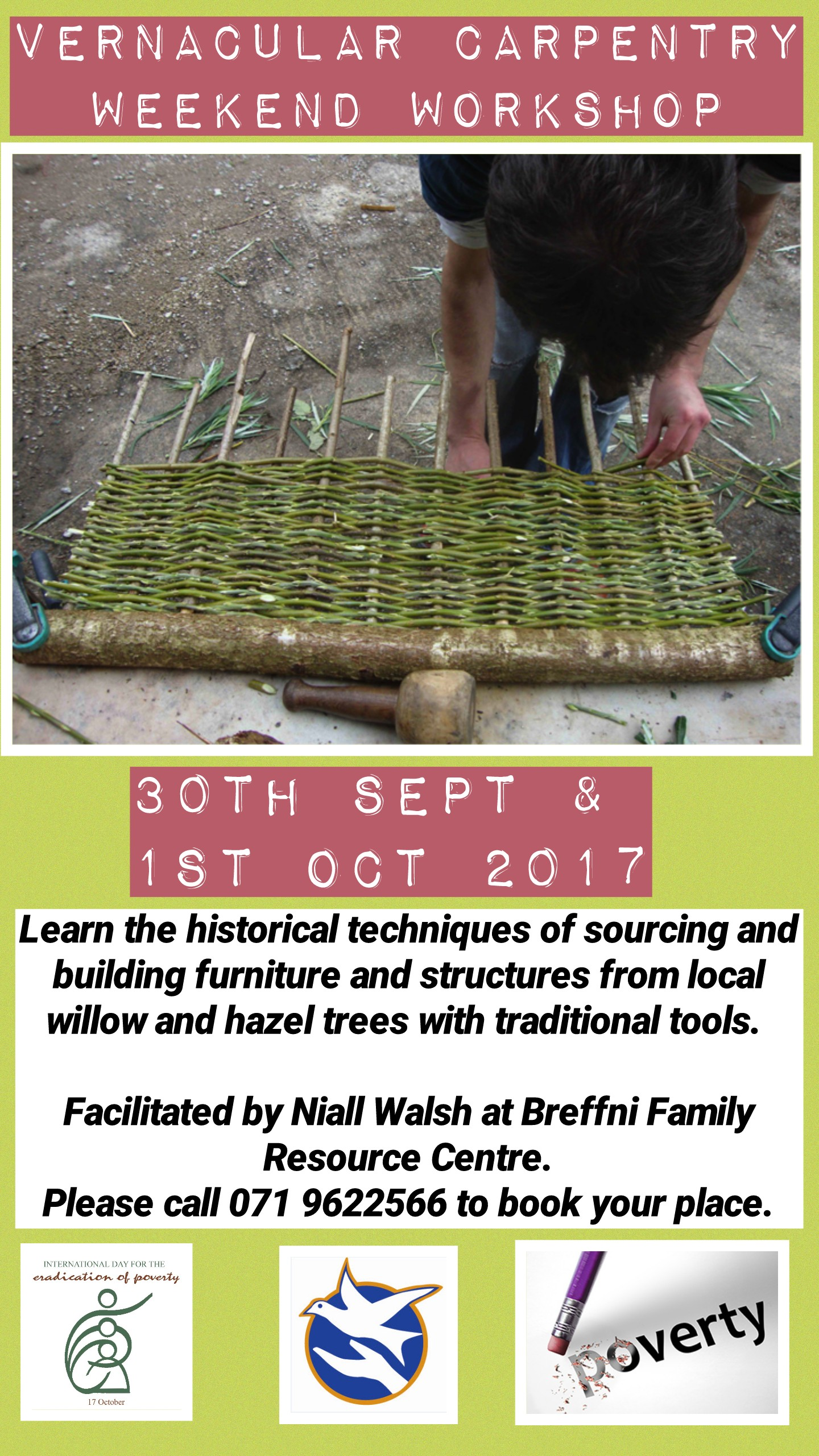 MyCarrick Event - Breffni Family Resource Centre - Vernacular Carpentry