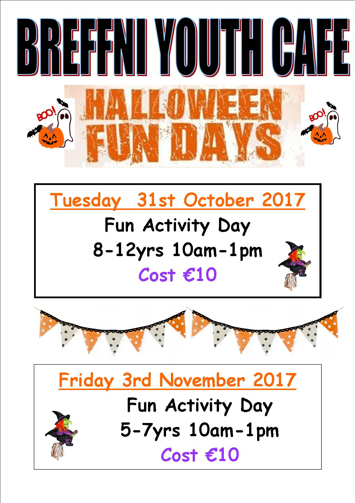 MyCarrick Event - Breffni Family Resource Centre - Halloween Camps