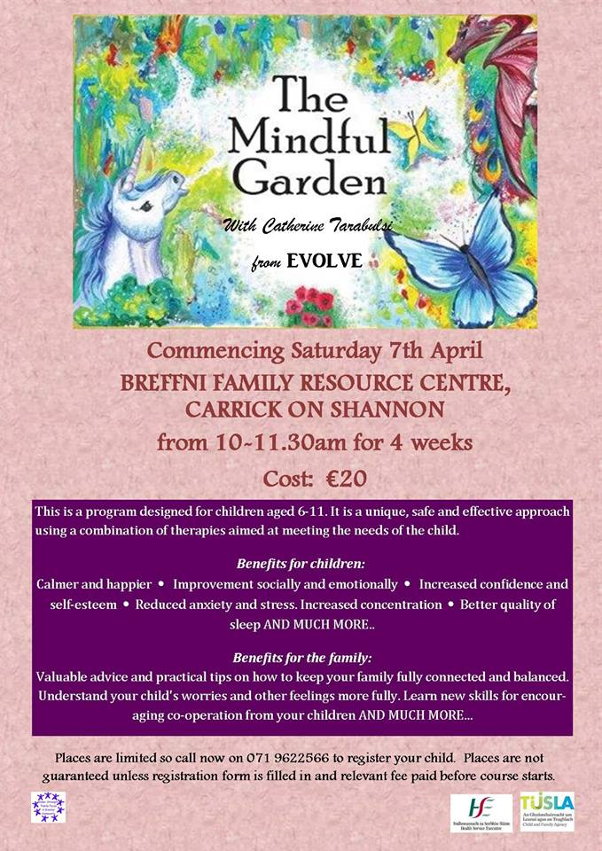 MyCarrick Event - Breffni Family Resource Centre - The Mindful Garden