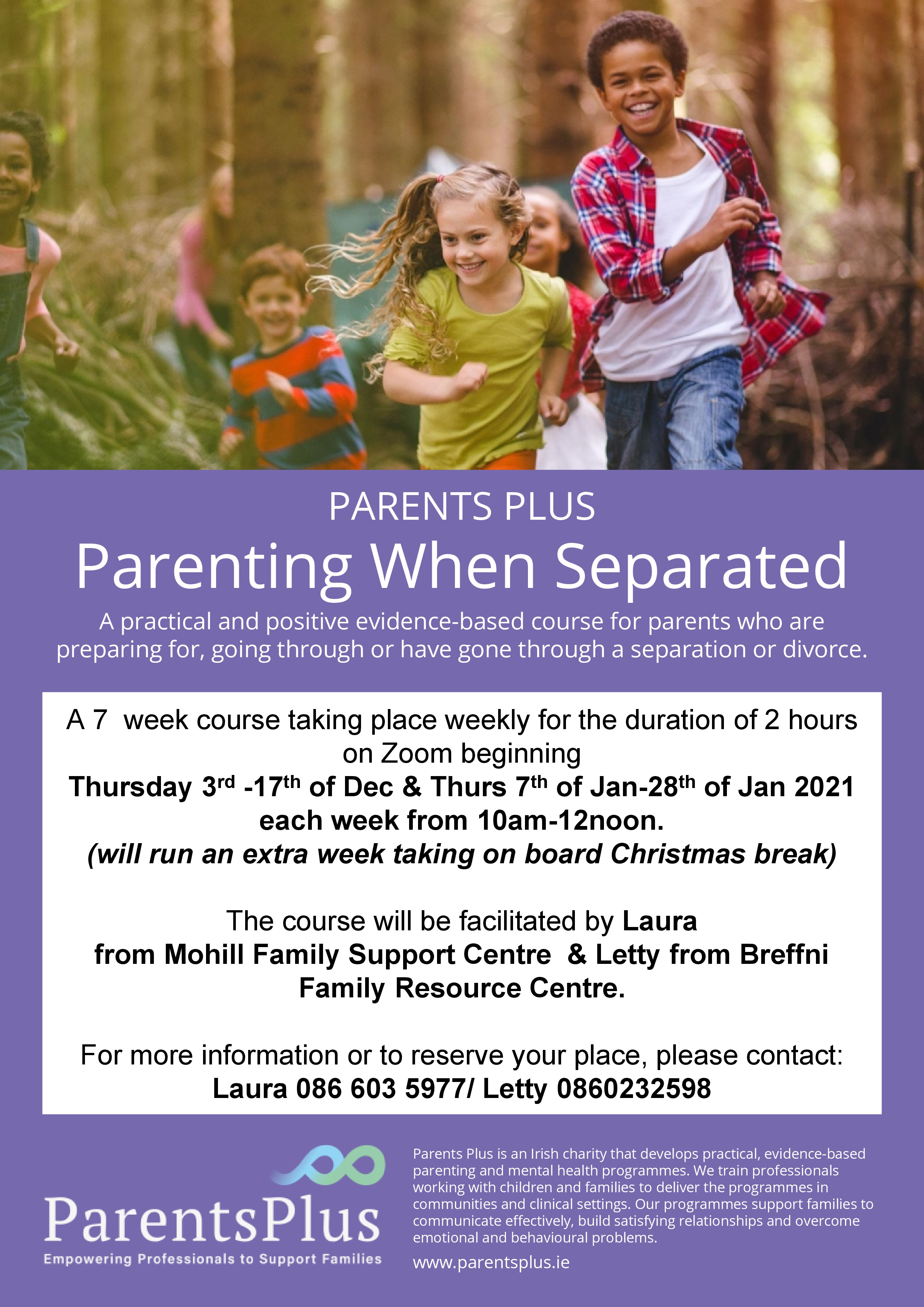MyCarrick Event | Breffni Family Resource Centre : Parenting When Separated
