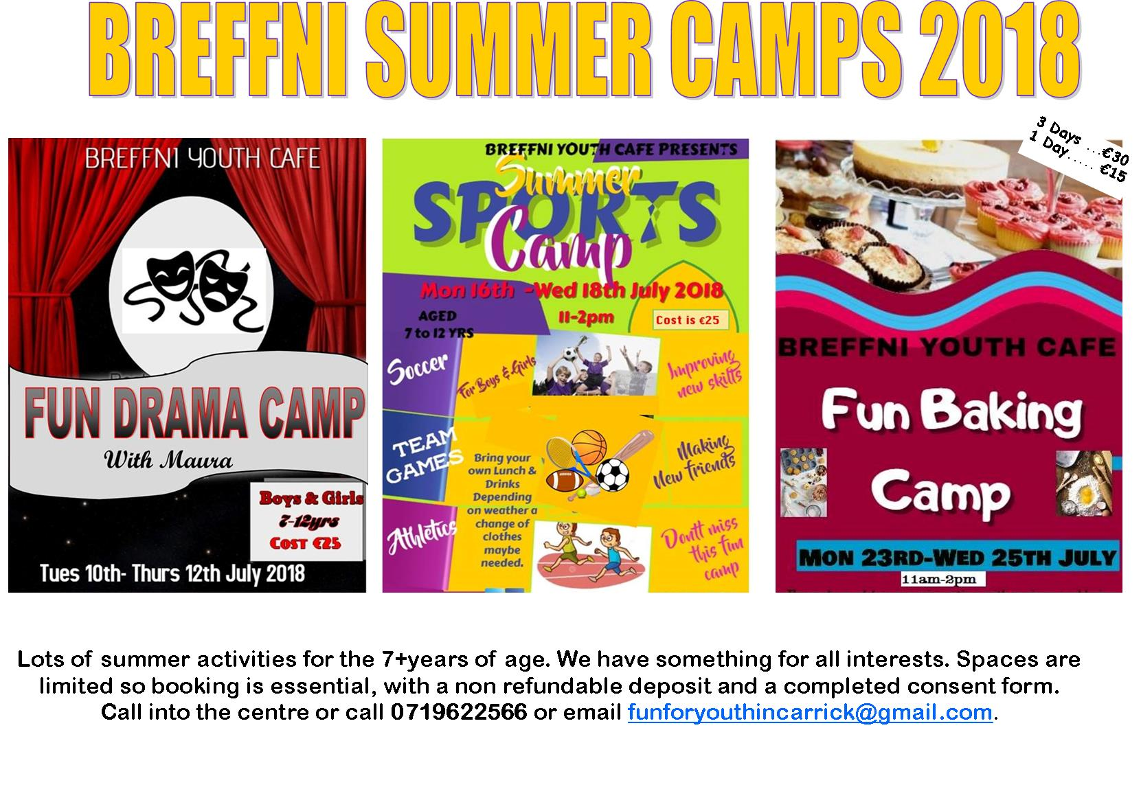 MyCarrick Event - Breffni Family Resource Centre - Summer Camps