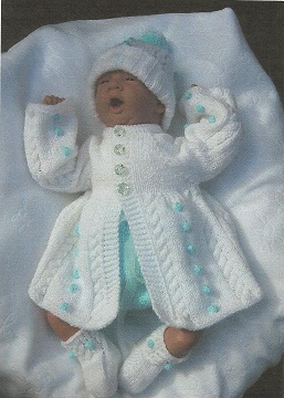 Hand Knitted Designer Baby Outfits