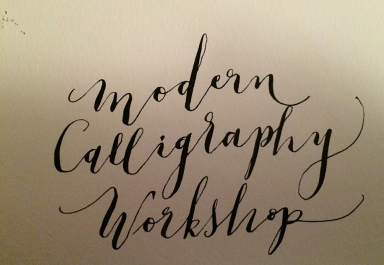 MyCarrick Event - The Dock - The Dock - Modern Calligraphy for Beginners