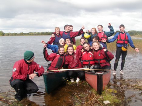 Canadian Canoeing on the Shannon River