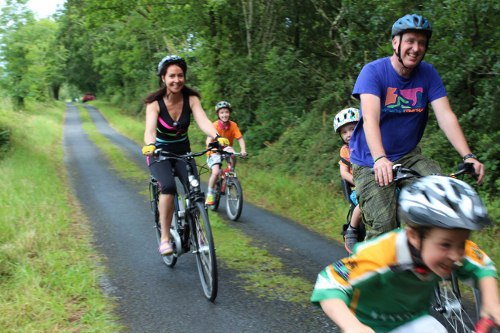 Family fun day out with Electric Bike Trails