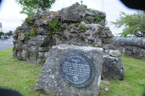 Remains of the Castle Wall Carrick on Shannon