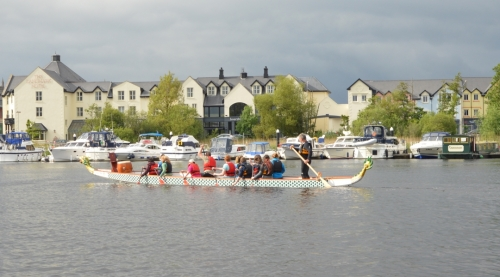 Dragon Boating in Carrick on Shannon