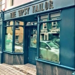 Outdoor view of The Tipsy Tailor