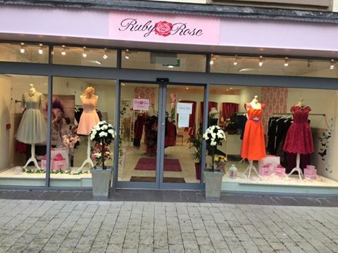 Ruby Rose Boutique Shop Front