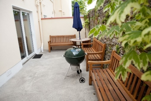 Carrick Self Catering Patio area