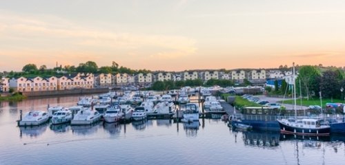 View of marina from Carrick Self Catering