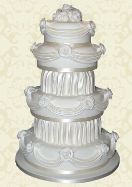 Award winning wedding cake