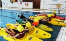 Kayaking Classes at Aura Leisure Centre Leitrim
