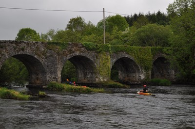 Bridge over Shannon at Battlebridge