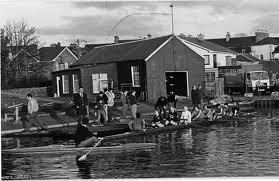 Old Clubhouse on Regatta day
