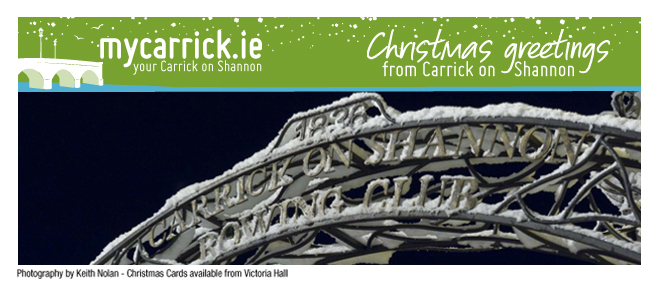 Christmas Greetings From Carrick On Shannon
