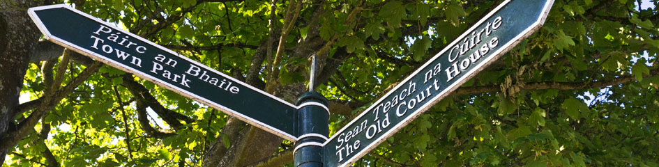 MyCarrick.ie - Local Information in Carrick on Shannon - Sign post Carrick on Shannon