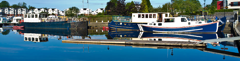 MyCarrick.ie - Tourist Information in Carrick on Shannon - Boats water sunny Carrick on Shannon